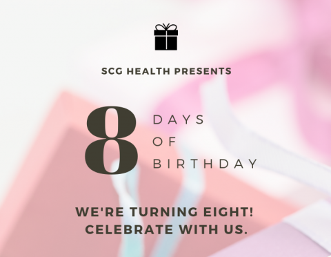 Eight Days of Birthday is here!