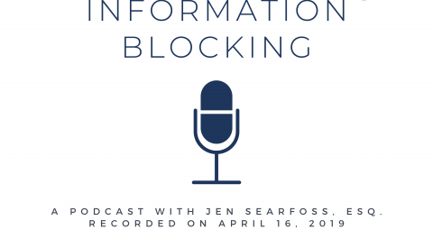 Information Blocking Podcast part of Eight Days of Birthday